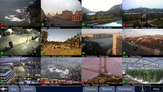Cam On! Pro - World live cams Screenshots