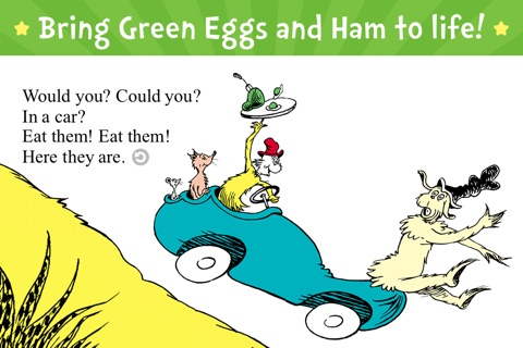 Green Eggs and Ham screenshot 1