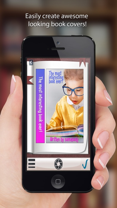 How To Make A Book Cover App : Book cover maker create and share with friends app