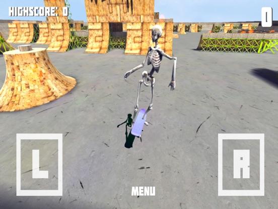Скачать игру Скелет Скейтборд - Необычное Скейтборд игры!