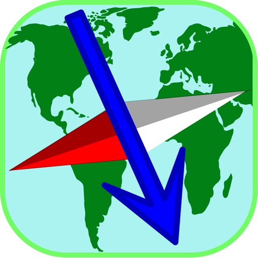 FMap GPS - navigate/find your friends on online and offline maps Icon
