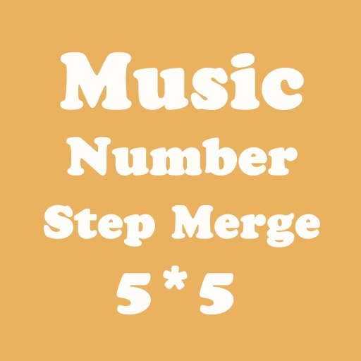 Number Merge 5X5 - Playing With Piano Music And Sliding Number Block iOS App