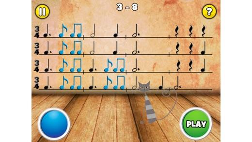 Rhythm Cat Pro - Узнайте о том, как читать ноты Screenshot