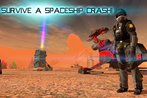Mars Survival 3D: Cosmic Crash Full screenshot 1