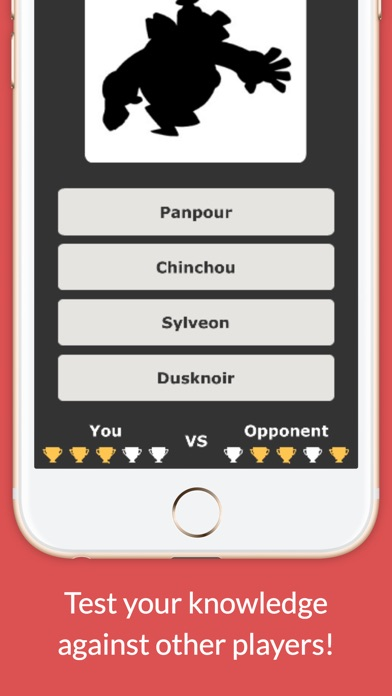 Screenshots of Monster Trivia Quiz - Pokemon Fan Edition for iPhone