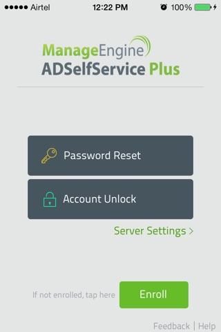 ManageEngine ADSelfServicePlus screenshot 1