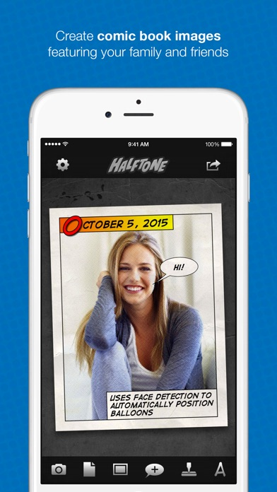 Halftone - Turn Photos Into Comics! Screenshot