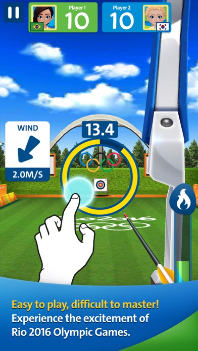 Screenshots of Rio 2016 Olympic Games for iPhone