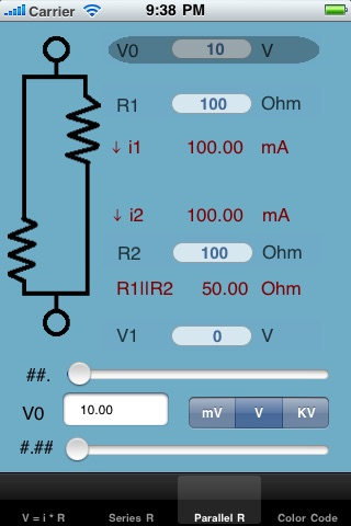 Resistor Bud screenshot 3