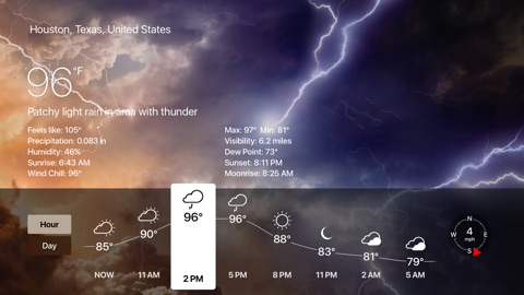 Screenshot #13 for Weather Live - Weather Forecast, Radar and Alerts