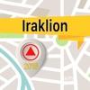 Iraklion 離線地圖導航和指南