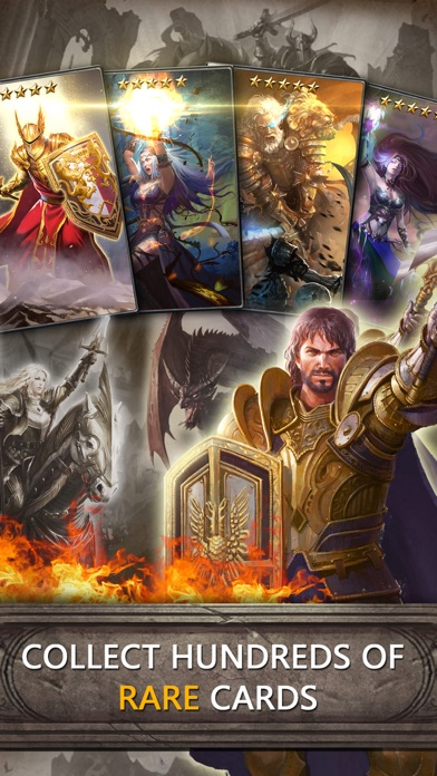 Screenshots of Heroes of Camelot for iPhone