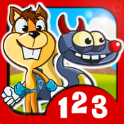 Monster Numbers: Math learning games with additions and subtractions for school age kids