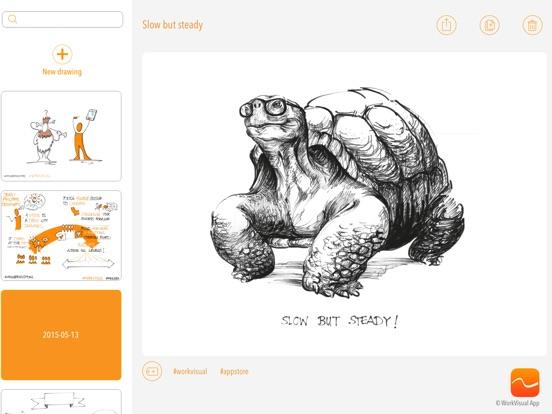 WorkVisual App Screenshots