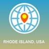 Rhode Island, USA Map - Offline Map, POI, GPS, Directions okinawa island map