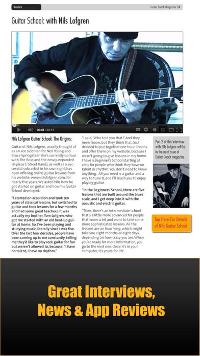 Guitar Coach Magazine Learn Play Guitar review screenshots