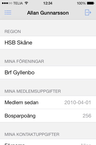 HSB Skåne screenshot 3