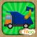 宝宝汽车, 卡车, 消防车  - 儿童拼图游戏, 益智活动, 图画 (英语, 国語)