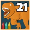 Coloring Book 21: More Dinosaurs