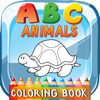 ABC Animals Coloring Book: Free For Toddler And Kids!