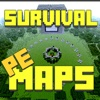 Survival MAPS for Minecraft PE ( Pocket Edition ) - Custom Map for MCPE