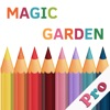 Magic Garden Pro: A Colorfly Book Free for Adults and kids - Create your color world