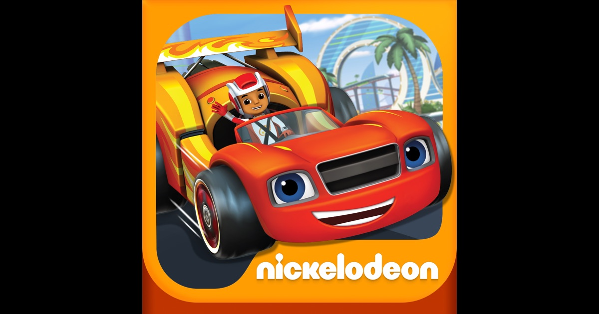 Blaze And The Monster Machines Racing Game For Kids On