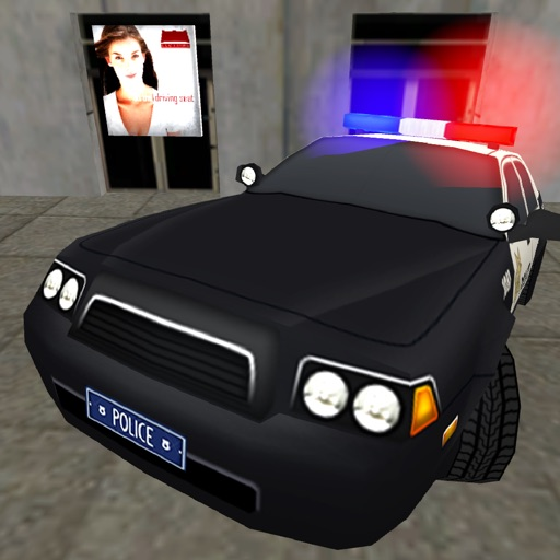 Police Criminal Chase Escape - Real Police Car Driving