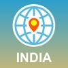 India Map - Offline Map, POI, GPS, Directions map of northern india