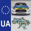 The base index number plates of Ukraine