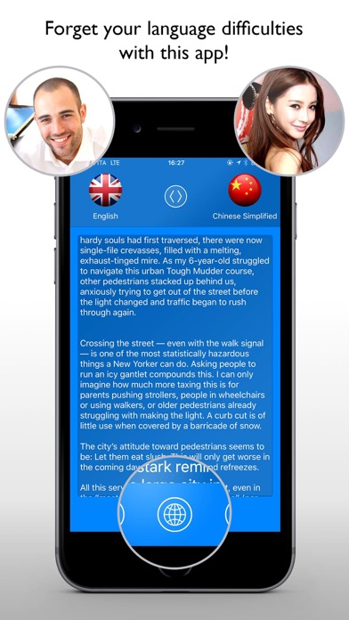 Translator Professional + Web Translator Screenshot