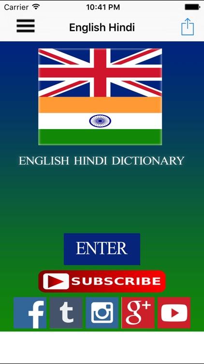 english hindi dictionary apps