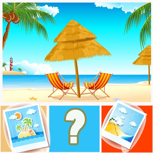 Guess the Word Quiz Guessing Beach Seaside Lovers Pro iOS App