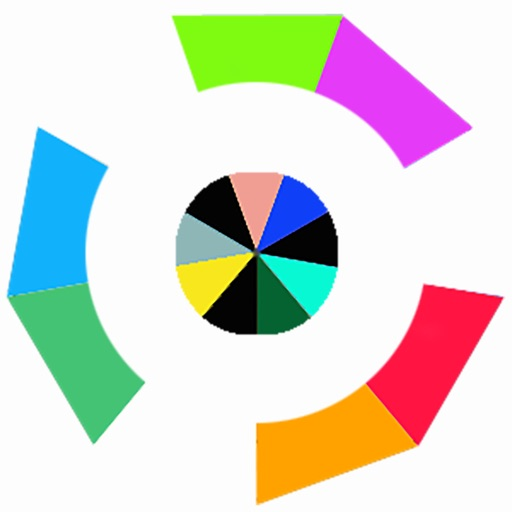 Color Rotate - Two Rings iOS App
