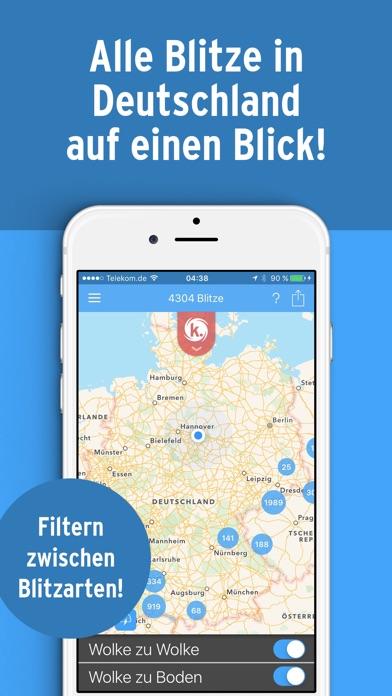 Kachelmann Radar & Blitz HD Screenshot
