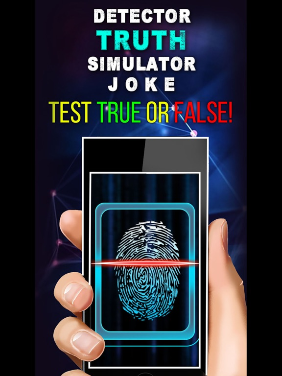 Детектор Лжи Симулятор Шутка на iPad