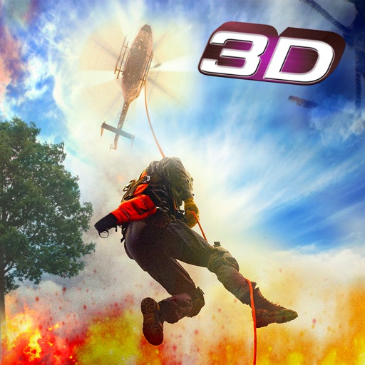Jungle Fire Helicopter Rescue – Mission Impossible Extreme Forest iOS App