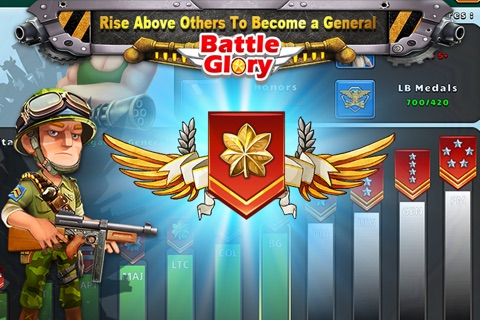 Battle Glory - Mech Army War screenshot 2