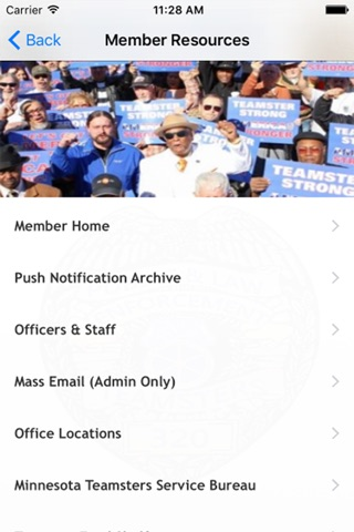 Teamsters Local 320 screenshot 2