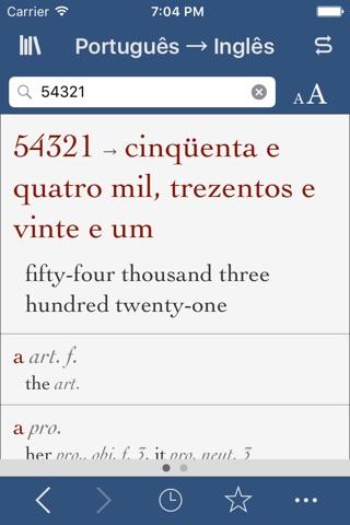 Portuguese-English Translation Dictionary and Verbs screenshot 3