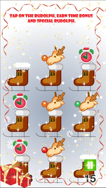 aaa christmas reindeer whack the iconic of happy new year