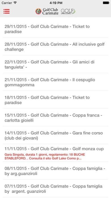 Screenshot of Golf Club Carimate2