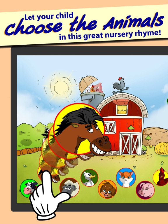 Old Macdonald Had A Farm Mcdonald Song For Kids On The App