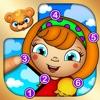 Zabawne Kropki - Gra Edukacyjna dla Dzieci