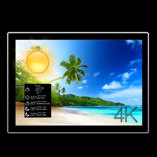 Serenity 4K - Relaxing Ultra HD Wallpaper + Full Audio Sound Effects