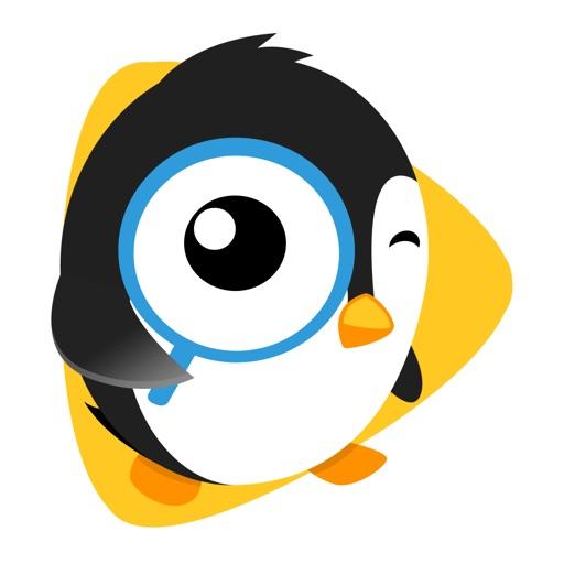 卡通企鹅手机壁纸