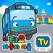 타요자동차마을-유아 어린이 자동차 놀이 학습과 스티커놀이