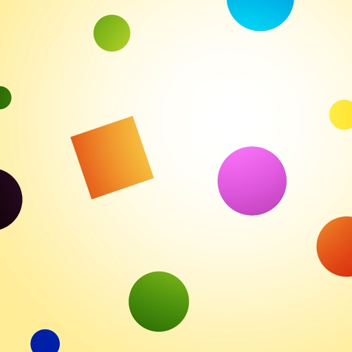 Catch the Dots, Avoid the Squares! iOS App