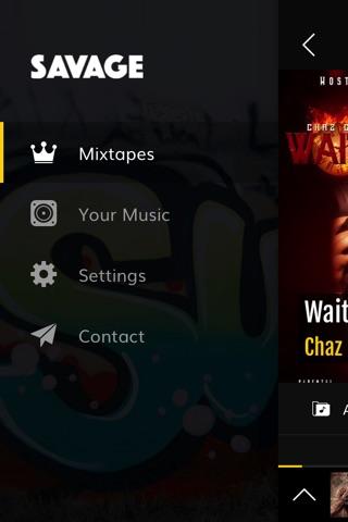 Savage · Mixtapes & Music screenshot 3