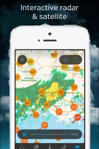 Weather Underground: Forecast screenshot 3